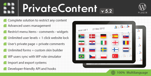 Private Content plugin -Discount Coupon Code