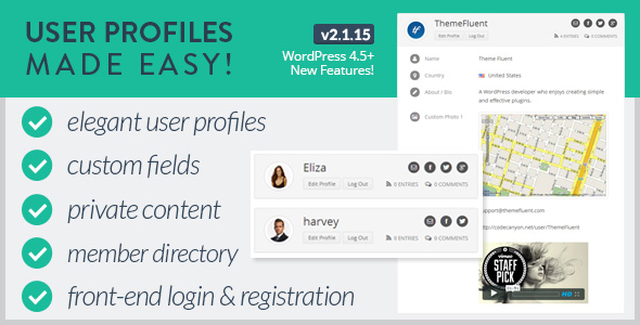 User Profiles Made Easy-Discount Coupon Code