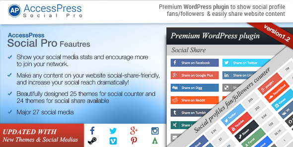 AccessPress Social Pro WordPress plugin - Discount coupon code