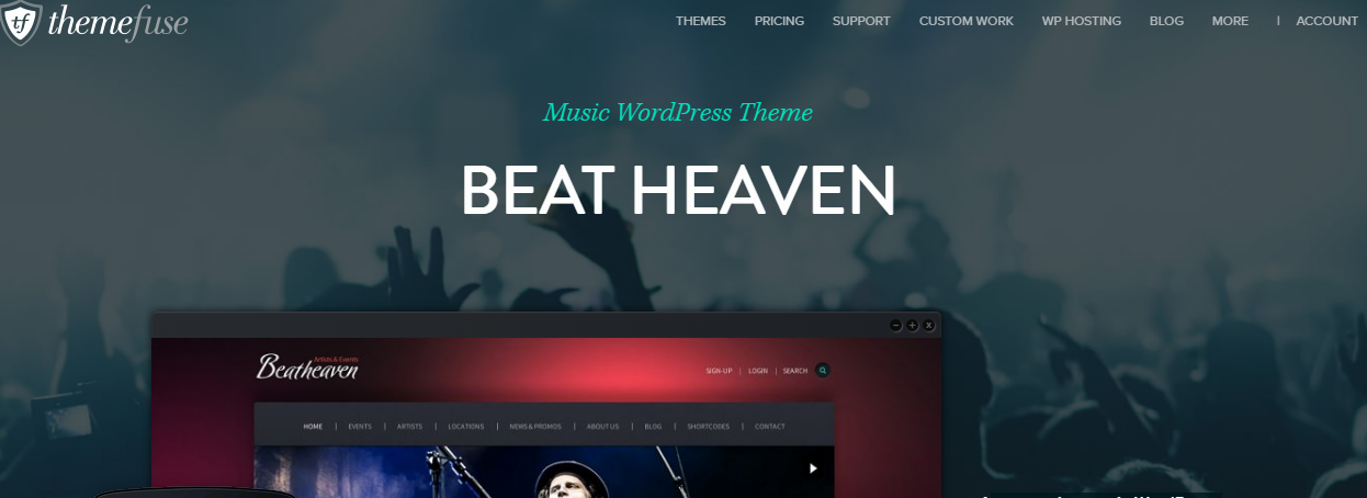 Beat Heaven Theme-Discount coupon code