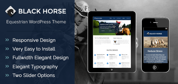 Black Horse Theme-Discount Coupon Code