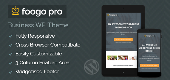 Foogo Pro Theme-Discount Coupon Code