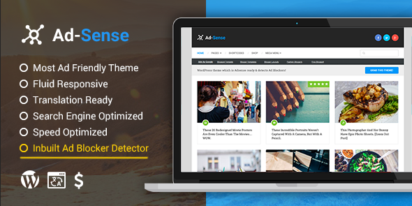 Ad-Sense Theme-Discount Coupon Code