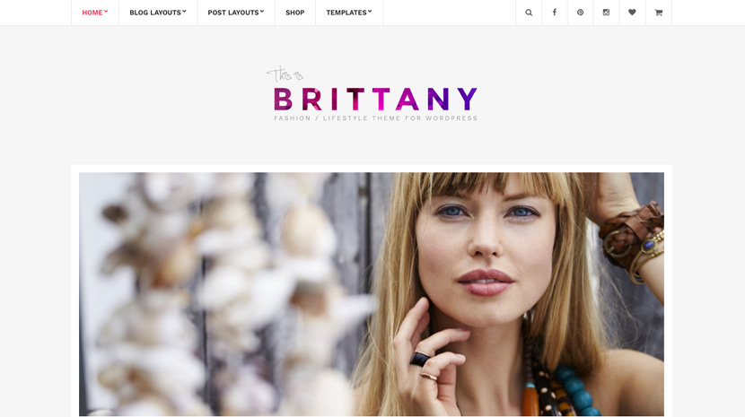 Brittany Theme -Discount Coupon Code