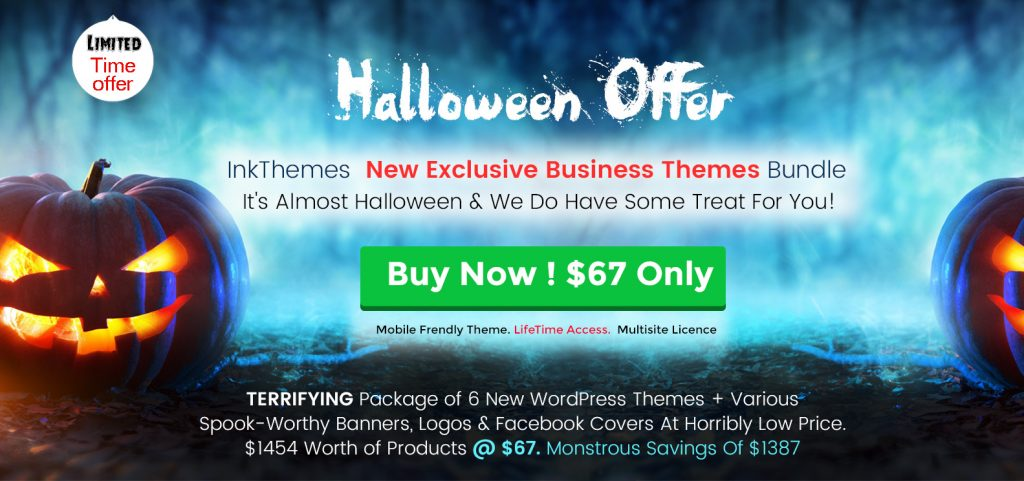 InkyTheme-Halloween offer