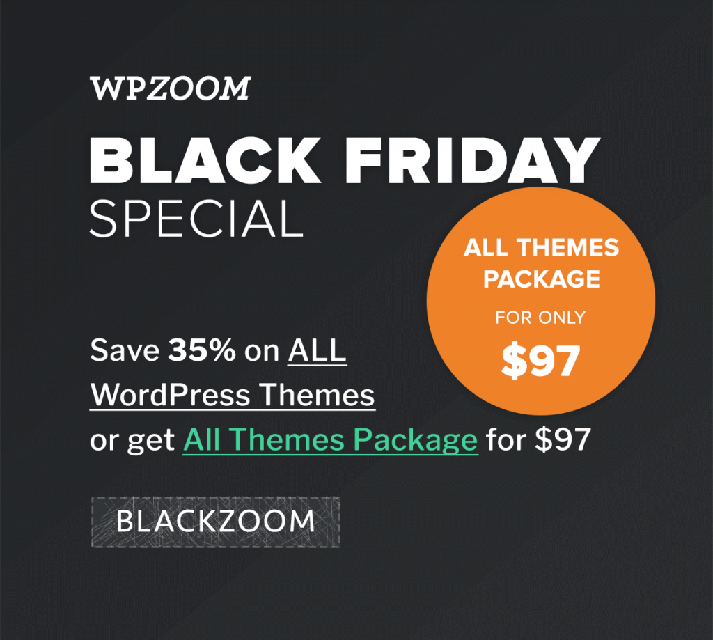 WPZoom- Discount Coupon Code